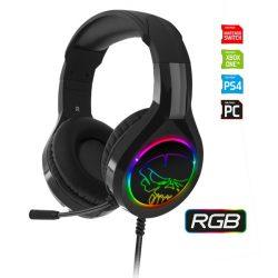 Spirit of Gamer Pro-H8 RGB mikrofonos fejhallgató