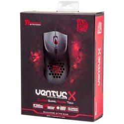 Tt eSPORTS VENTUS X Plus USB lézeres gaming egér fekete