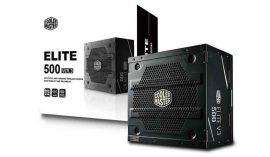 CoolerMaster 500W Elite V3 Series tápegység (MPW-5001-ACABN1-EU)