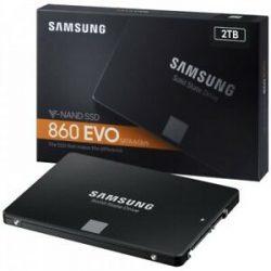 2TB Samsung 860 EVO Basic SATA3 SSD (MZ-76E2T0B/EU)