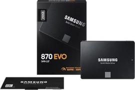 "250GB Samsung 870 EVO SATA3 2,5"" SSD (MZ-77E250B/EU)"