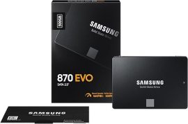 500GB Samsung 870 EVO SATA3 SSD (MZ-77E500B/EU)