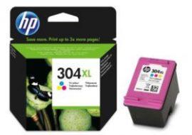 HP N9K07AE (no.304XL) nagykapacitású színes patron