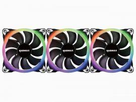 RaidMax NV-R120FBR3 RGB 3x120mm System Fan + LED control pack