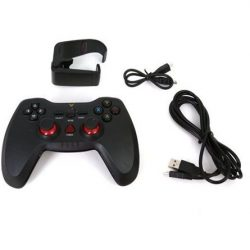 Omega Sandpiper Android, PC, PlayStation 3 controller USB gamepad fekete-piros