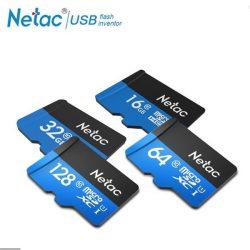 64GB NETAC microSD kártya CL10 + adapter