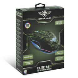 Spirit of Gamer Elite-M50 Army egér