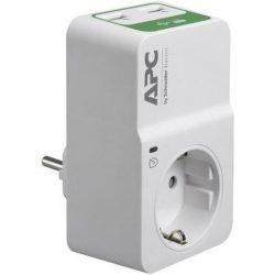 APC PM1WU2-GR SURGE PROTECTOR túlfeszültségvédő 2 USB csatlakozóval