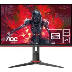 "27"" AOC Q27G2U/BK VA LED gaming monitor (144Hz FreeSync Premium)"