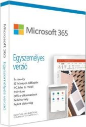 Microsoft 365 Personal Hungarian EuroZone Subscr 1yr