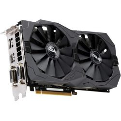 Asus Radeon RX 570 ROG Strix OC Gaming 8GB GDDR5 256-bit grafikus kártya
