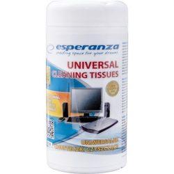 Esperanza S105 univerzális nedves törlőkendő 100db