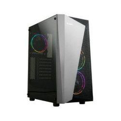 Zalman S4 PLUS táp nélküli Mid Tower számítógépház ezüst-fekete