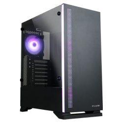 Zalman S5 BLACK Mid Tower számítógépház fekete