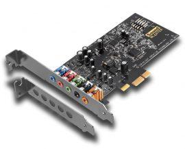 Creative Sound Blaster Audigy Fx 5.1 PCIe Sound Card with SBX Pro Studio BULK