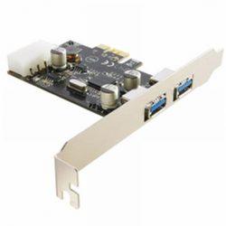 BestConnect PCI-E x1 2 USB3.0 IO vezérlő