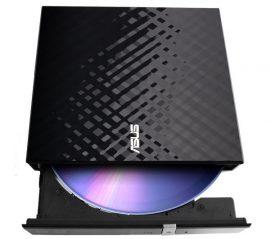 Asus SDRW-08D2S-U LITE külső DVD író  fekete