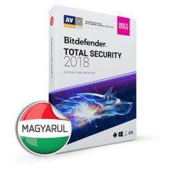 Bitdefender Total Security 2019 vírusirtó - most 5 gépre!