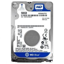 "500GB Western Digital Blue SATA3 2,5"" HDD (WD5000LPCX)"