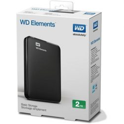2TB Western Digital Elements USB3.0 külső winchester