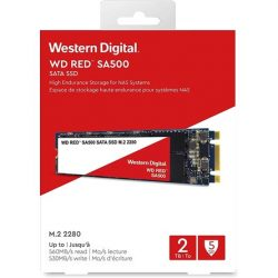 500GB Western Digital Red SATA3 M.2 2280 SSD