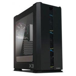 Zalman X3 Black számítógépház